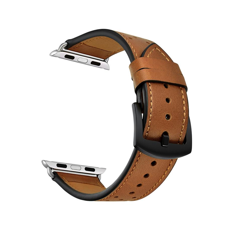 Dây đeo JINYA Vogue Leather cho Apple Watch - Hàng Chính Hãng