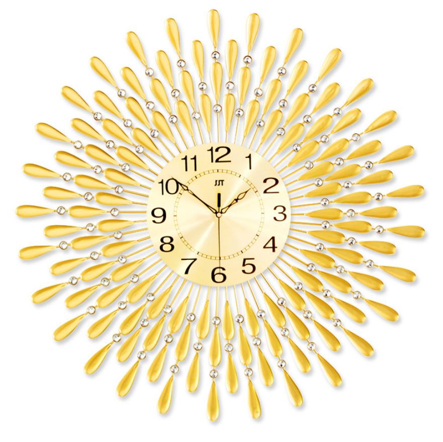 Đồng hồ treo trường họa tiết giọt nước