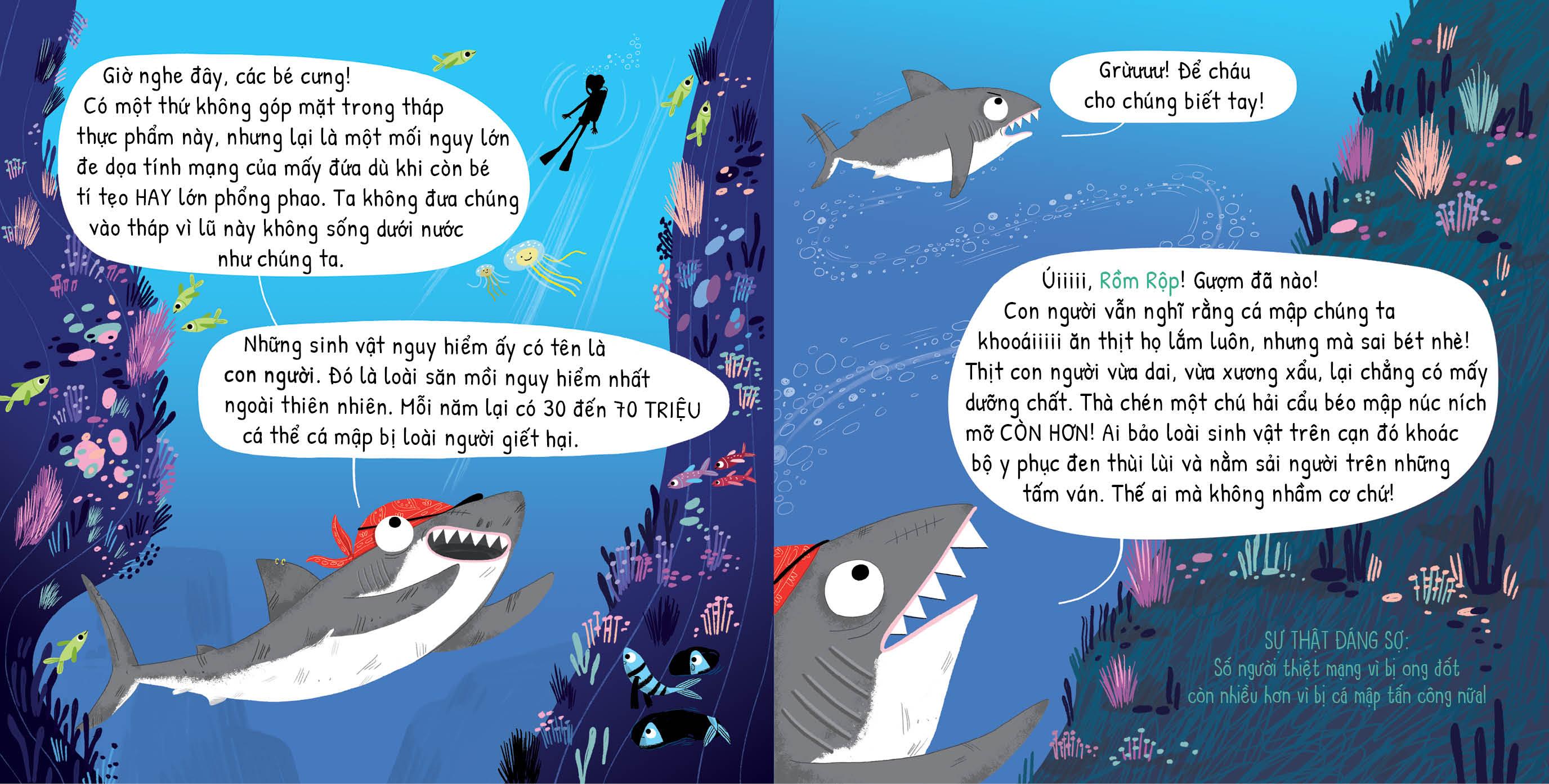 Bí Kíp Sinh Tồn Của Loài Cá Mập Chân Chính
