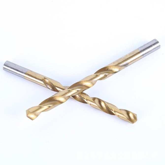 Bộ 19 mũi khoan vàng dùng cho khoan sắt khoan gỗ