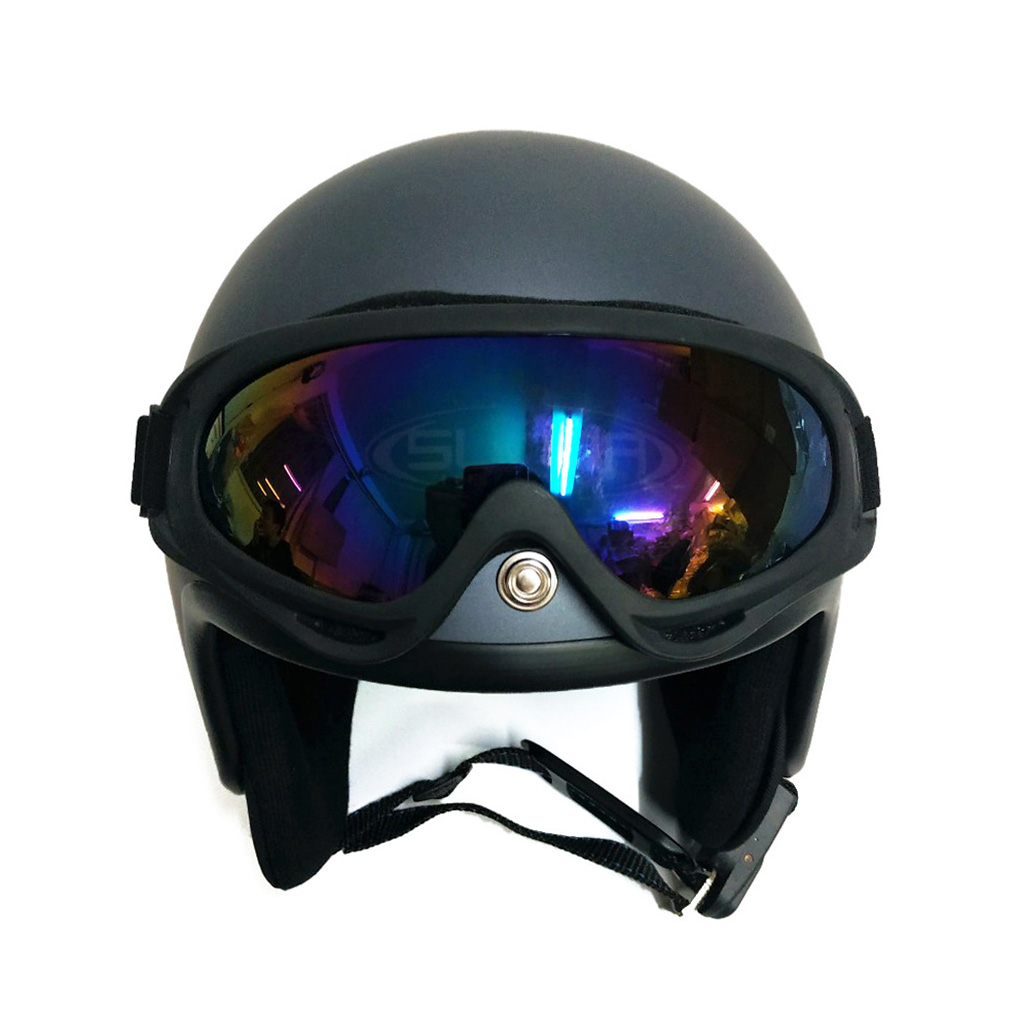 Nón bảo hiểm SUNDA 111C kèm kính UV400