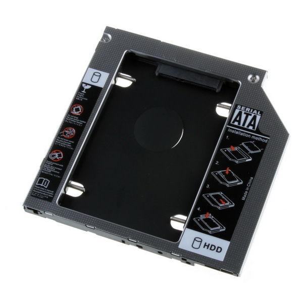 Khay ổ cứng Laptop Caddy Bay dày 12.7mm - Hàng nhập khẩu