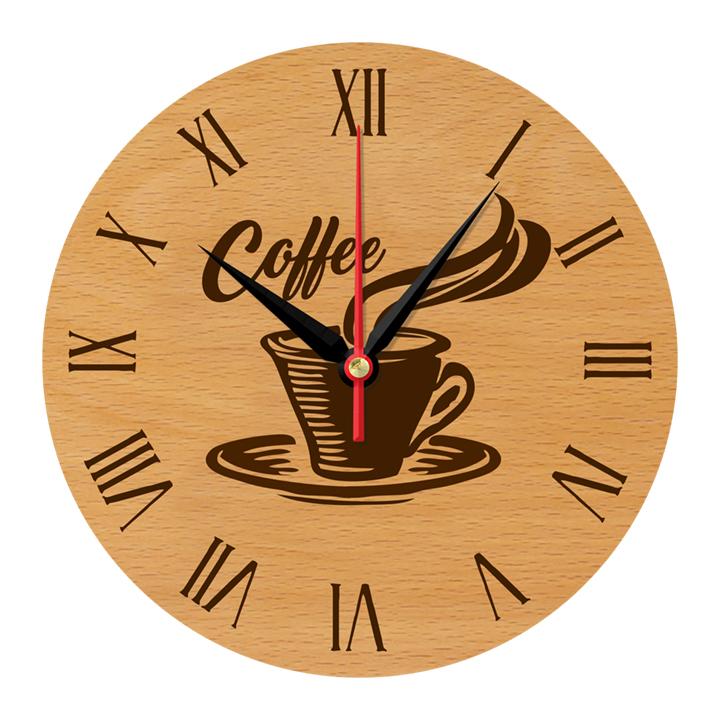 Đồng hồ tranh treo quán cà phê sang trọng DHT-148