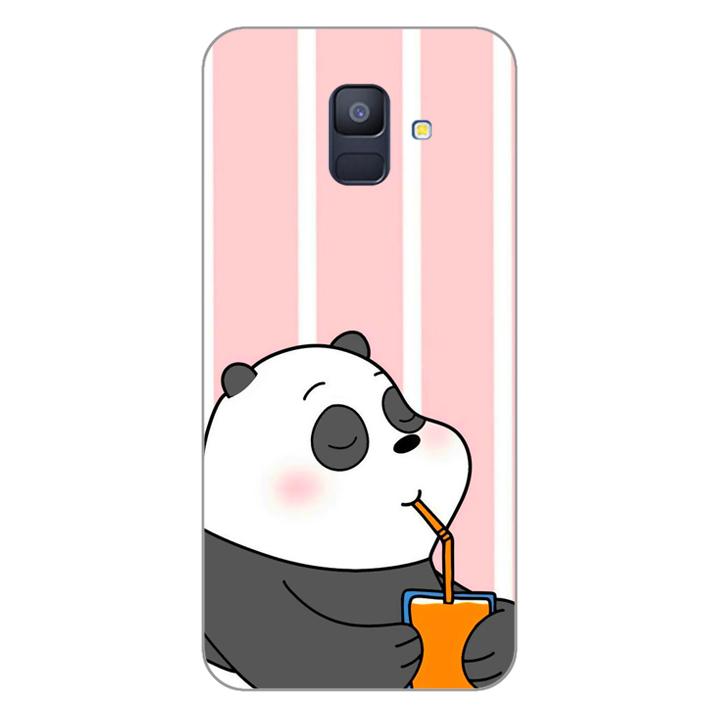 Ốp lưng dẻo cho điện thoại Samsung Galaxy A6 20180399 PANDA06