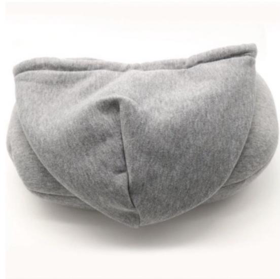 Gối ngủ nhanh kê cổ chữ U có nón trùm 2-C8-T-2304