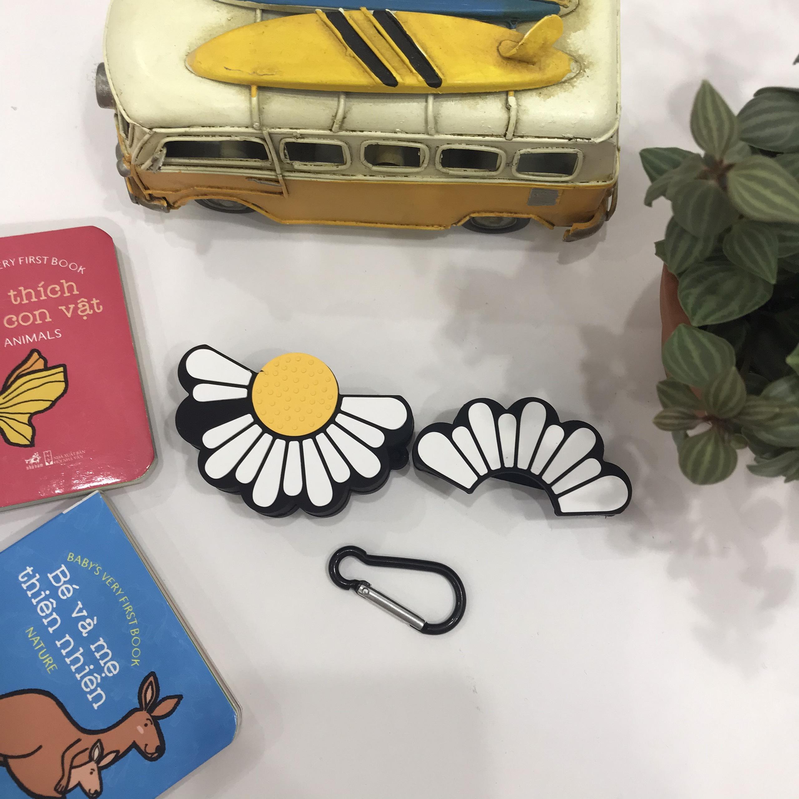 Bao Case Silicon Cho Tai Nghe Apple AirPods Pro - Hình Hoa Cúc