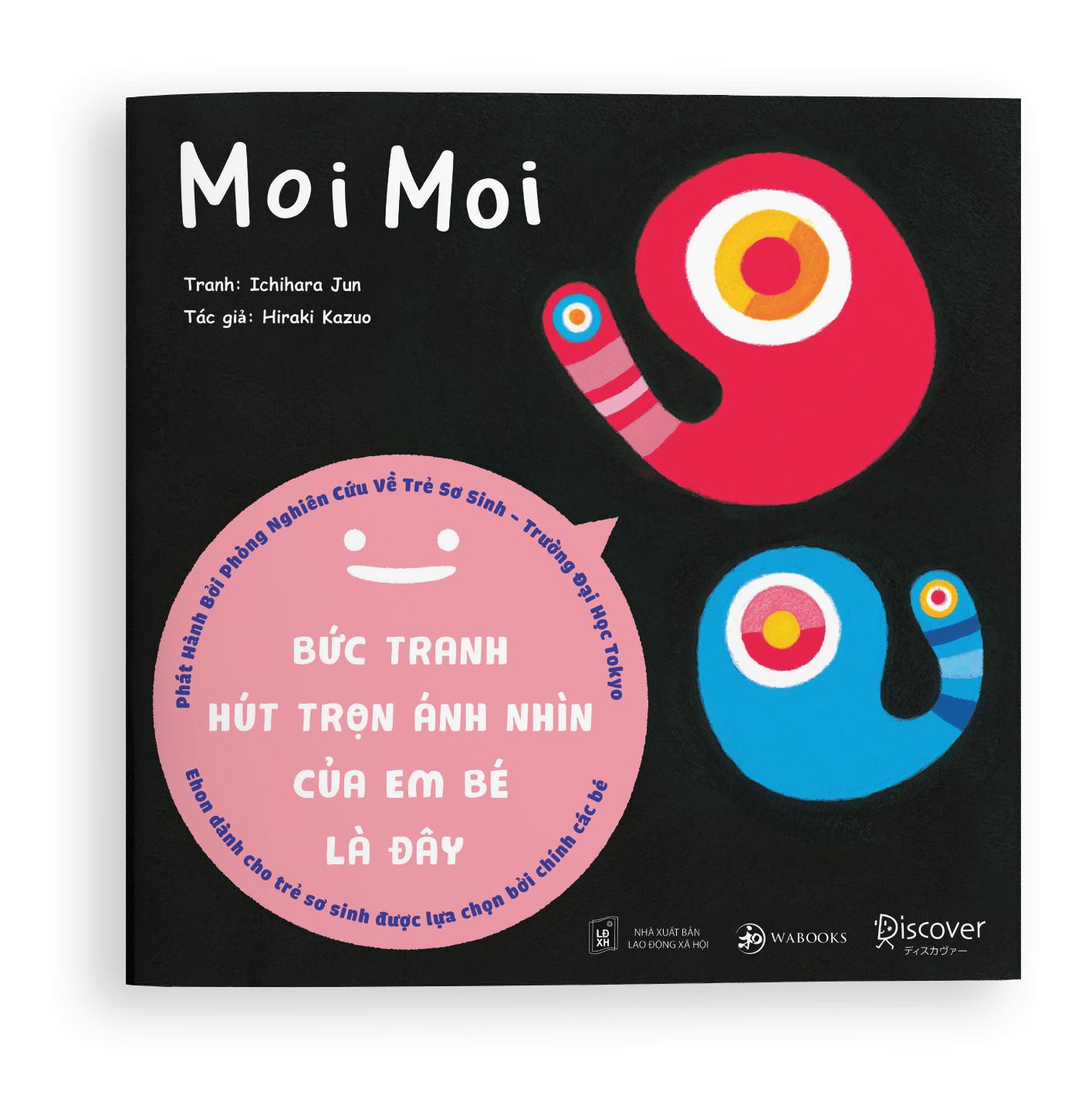 Sách ehon - Set 3 cuốn Moi Moi và những người bạn - Dành cho trẻ từ 0-2 tuổi