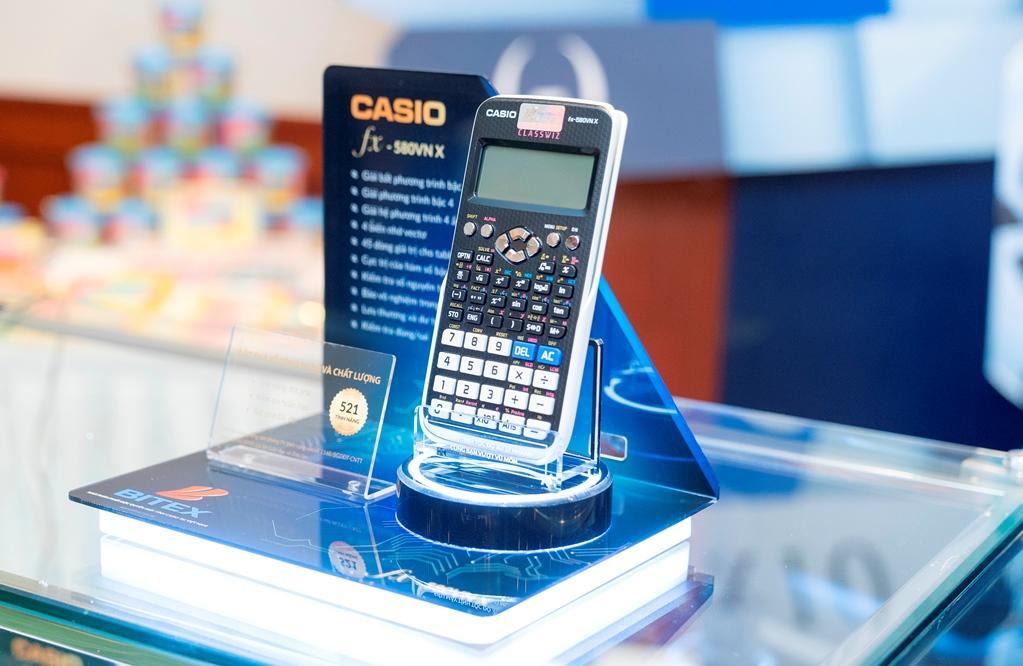 Máy tính Casio FX580VNX - Tặng 01 tập giấy Note Hàn Quốc
