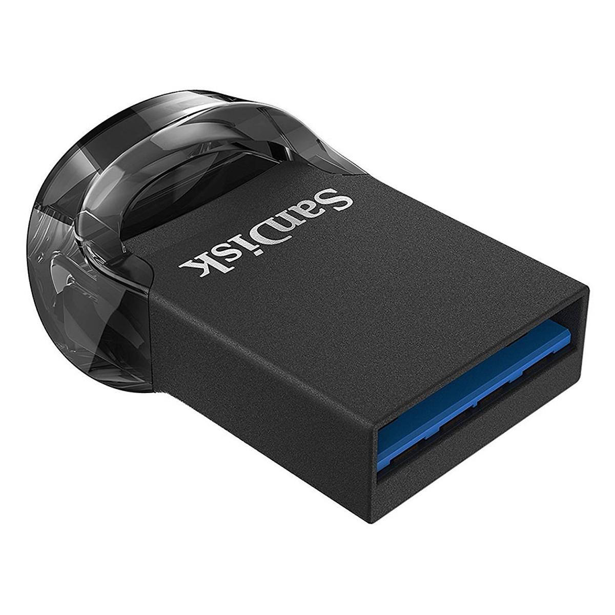 USB 3.1 SanDisk CZ430 Ultra Fit - 128GB Hàng Nhập Khẩu