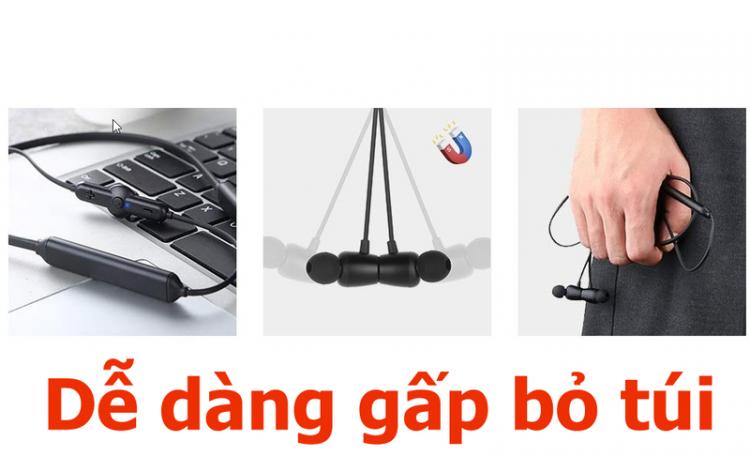 Tai nghe Bluetooth nhét tai thể thao chống nước chống ồn Q5 pin 30 giờ PF155 19