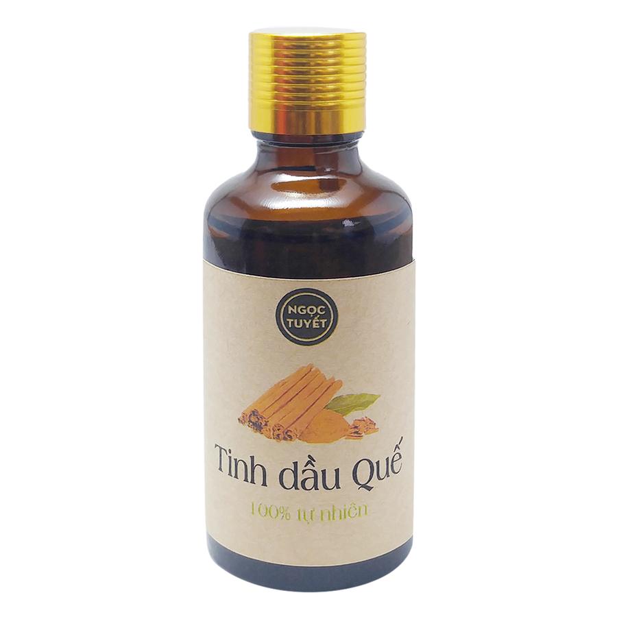 Combo 2 Chai Tinh Dầu Bạc Hà + Tinh Dầu Quế Ngọc Tuyết (50ml x 2)