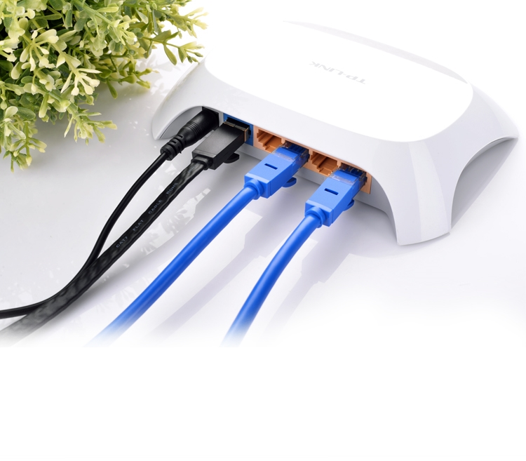 Dây mạng bấm sẵn 2 đầu Cat6 UTP Patch Cords dài 25M UGREEN NW102 11208 - Hàng chính hãng