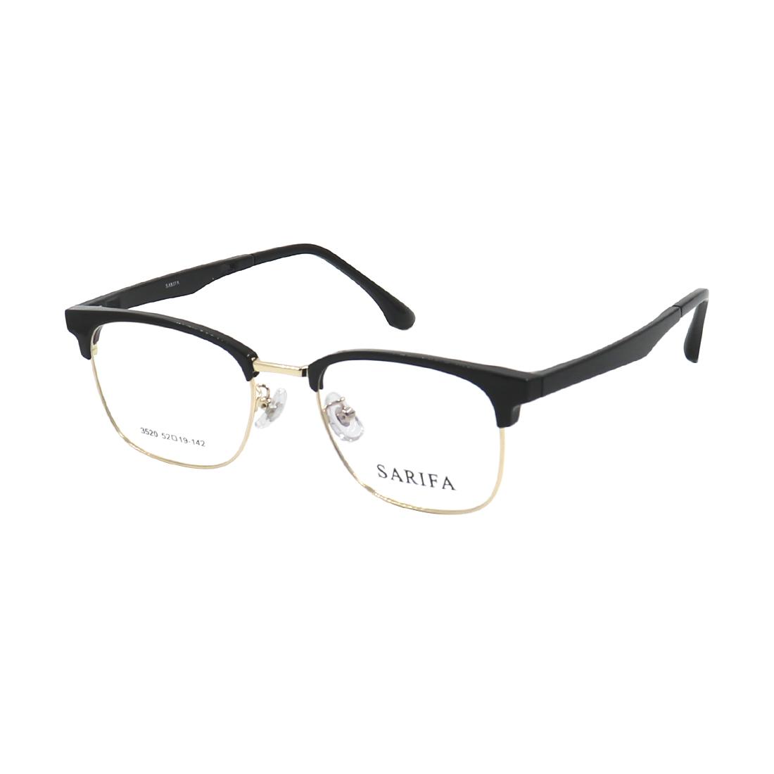 Gọng kính, mắt kính SARIFA 3520 (52-19-142) chính hãng, nhiều màu lựa chọn