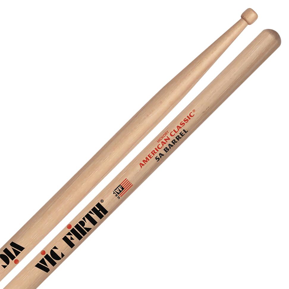 Dùi trống Vic Firth American Classic 5A Barrel Tip