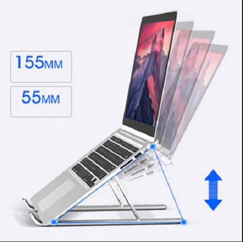 Giá Đỡ Máy Tính Xách Tay 6 cấp Đế Đỡ Có Thể Gập Lại Giá Đỡ Máy Tính Xách Tay Cho Máy Tính Xách Tay Macbook Pro Air HP Giá Đỡ Làm Mát Máy Tính
