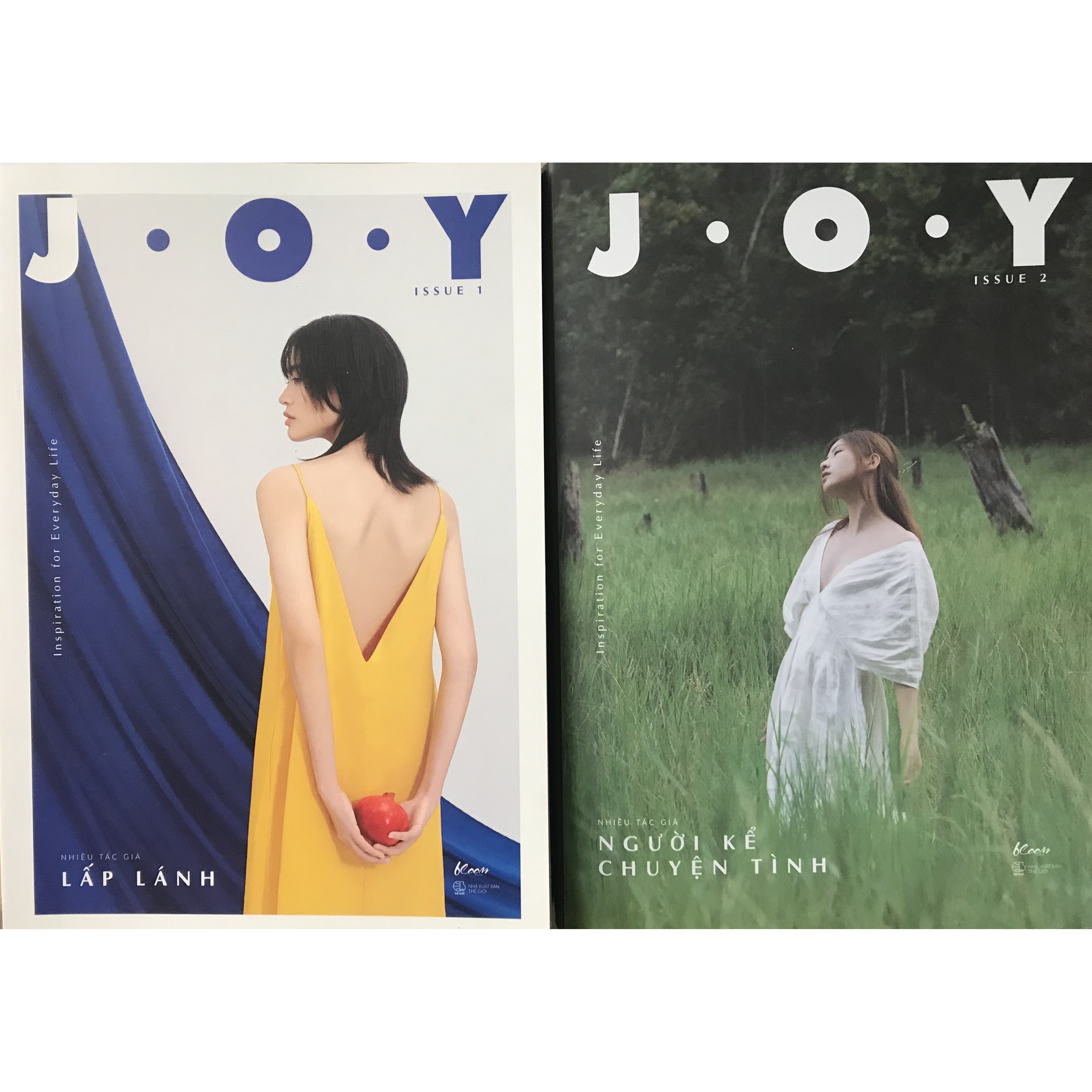 Combo Bộ 02 Cuốn J.O.Y – Issue - Lấp lánh - Người Kể Chuyện Tình