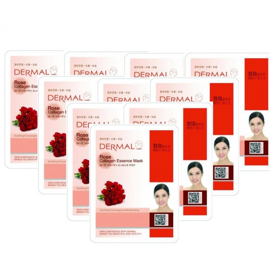 10 Mặt nạ dưỡng da tinh chất hoa hồng Dermal
