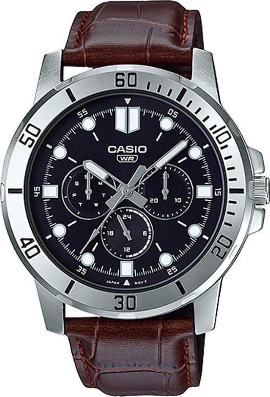 Đồng hồ nam dây da Casio Standard chính hãng MTP-VD300L-1EUDF