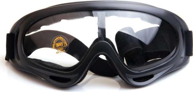Mắt Kính Đi Phượt X400 (Tròng Trong Suốt)
