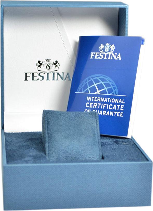 Đồng Hồ Nữ Dây Nhựa Festina F16582/1 (42mm)