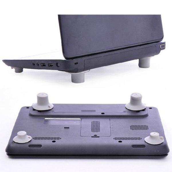Bộ chân đế cao su Làm Mát Cho Máy Tính Laptop
