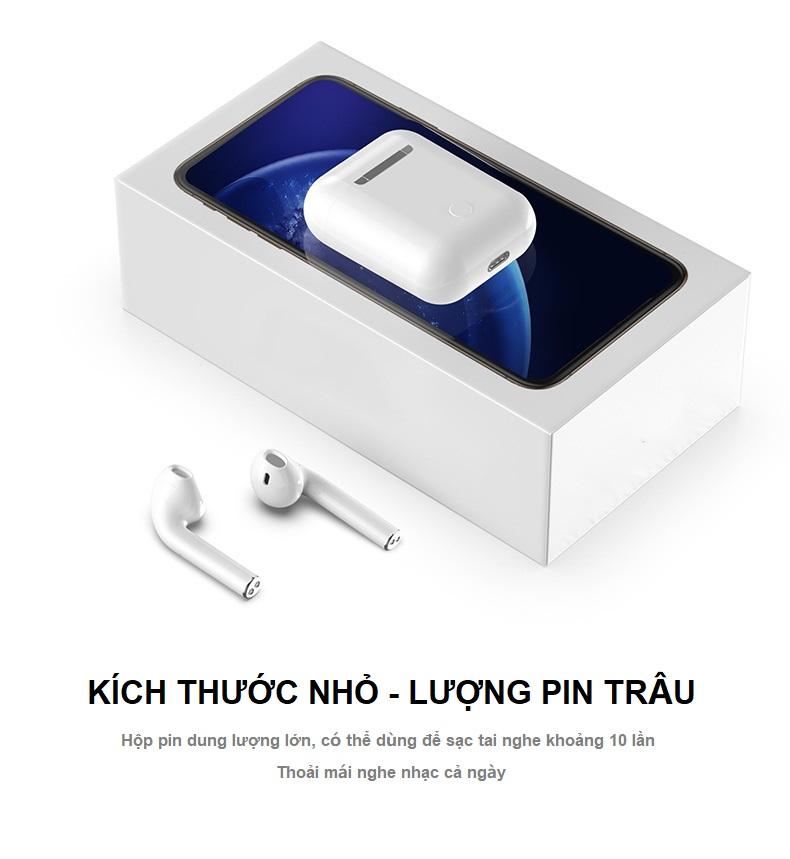 Tai Nghe Bluetooth Cảm Ứng i10s