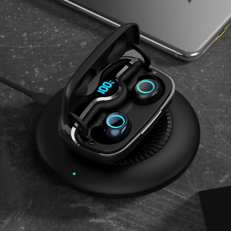Tai nghe không dây Iwalk Crazy Duo BTC001 bluetooth 5.0, thời gian sử dụng 80h, chống nước IPX5 - Hàng chính hãng