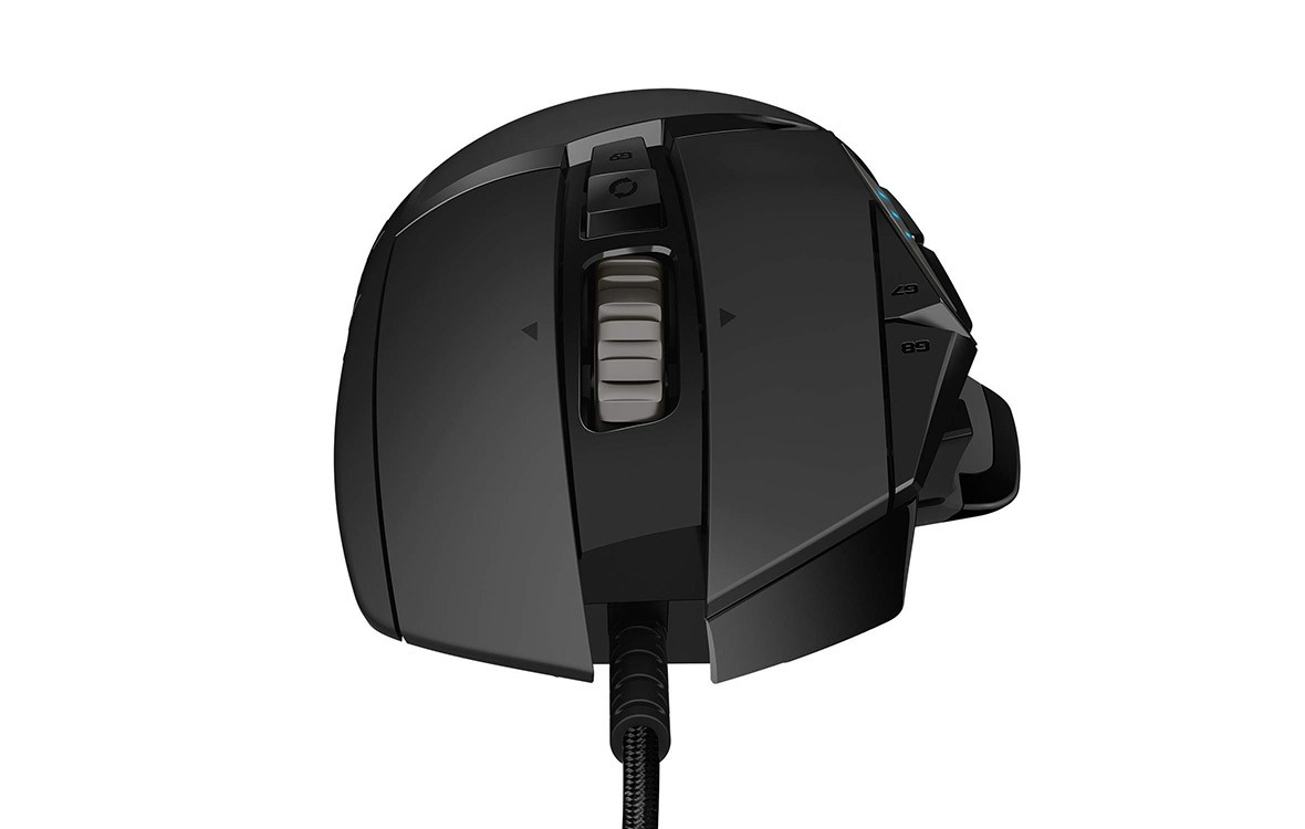 Chuột máy tính Logitech G502 HERO (Đen) - Hàng chính hãng