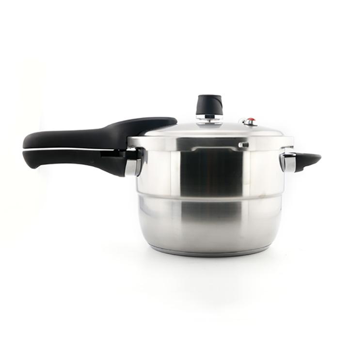 Nồi áp suất 3 đáy Inox 304 Elmich 22cm 5.5L EL3371 dùng bếp từ - Hàng chính hãng