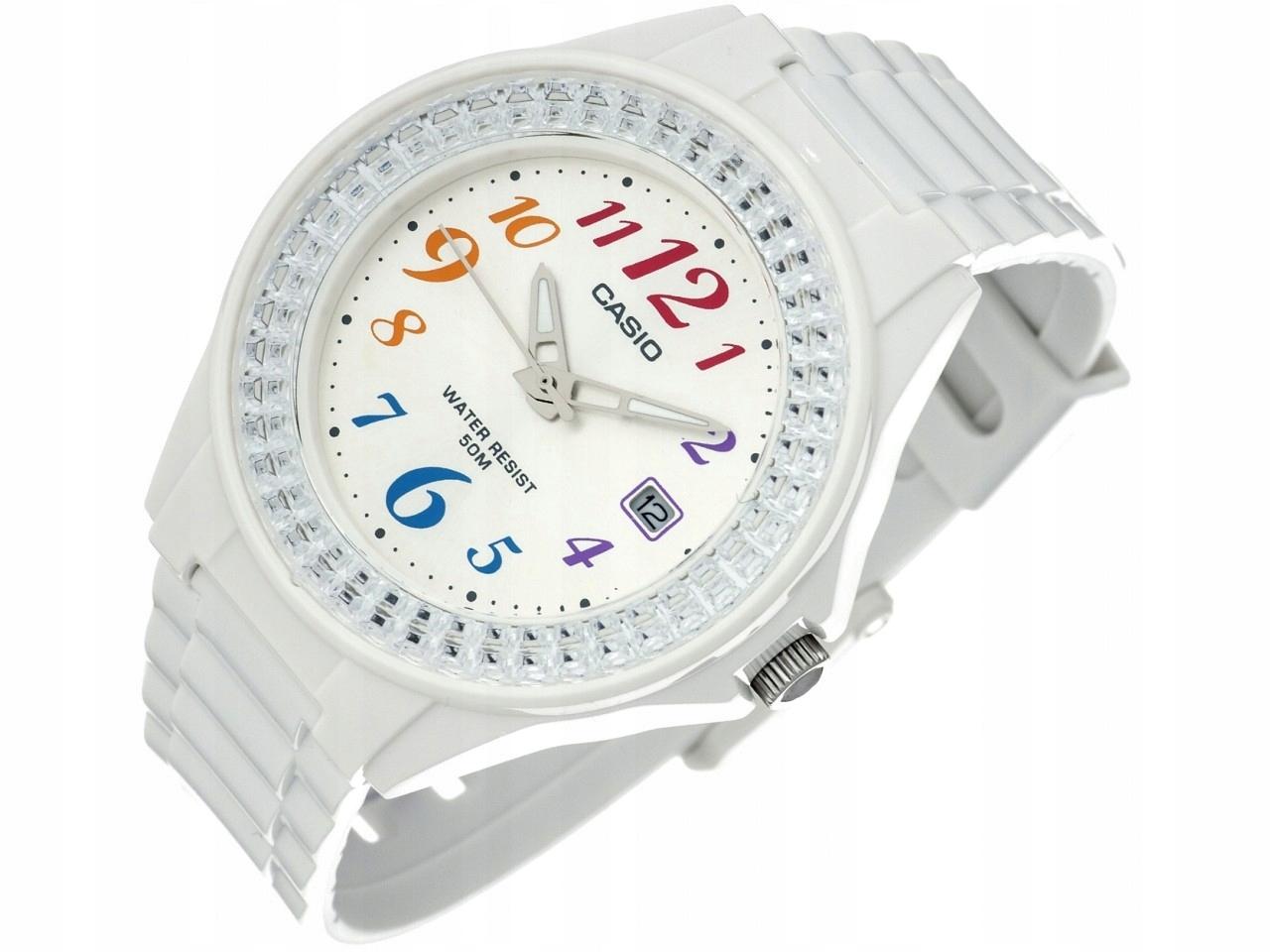 Đồng hồ nữ dây nhựa Casio LX-500H-7BVDF