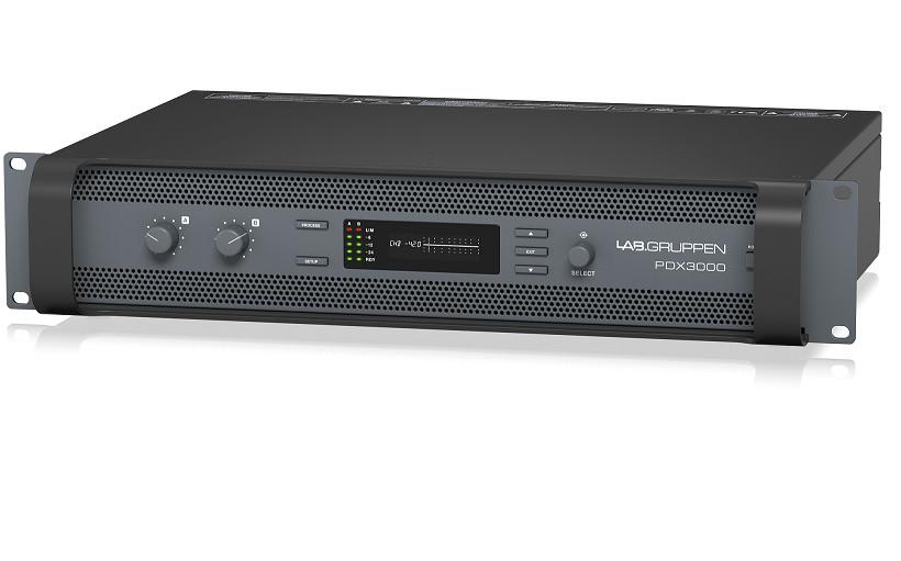 Đấy công suất LAB.GRUPPEN PDX3000 - 2 Kênh x 1,500 Watts Amplifier-Hàng Chính Hãng
