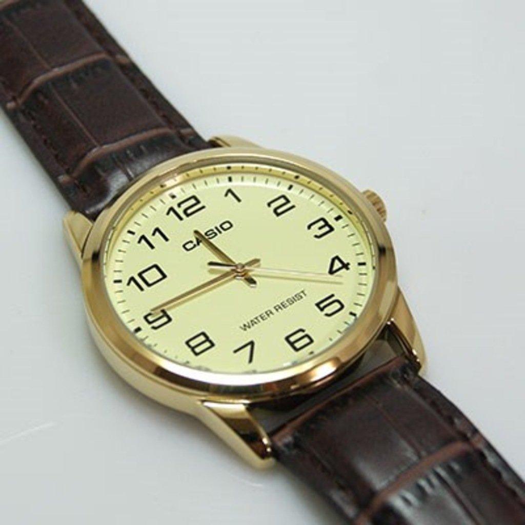 Đồng hồ nam dây da Casio MTP-V001GL-9BUDF