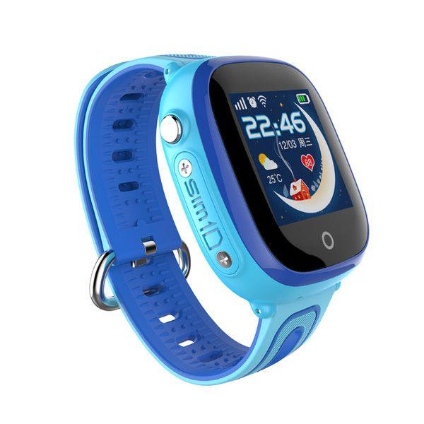 Đồng hồ thông minh định vị trẻ em DF31G (Xanh) - tặng vòng tay Ruby