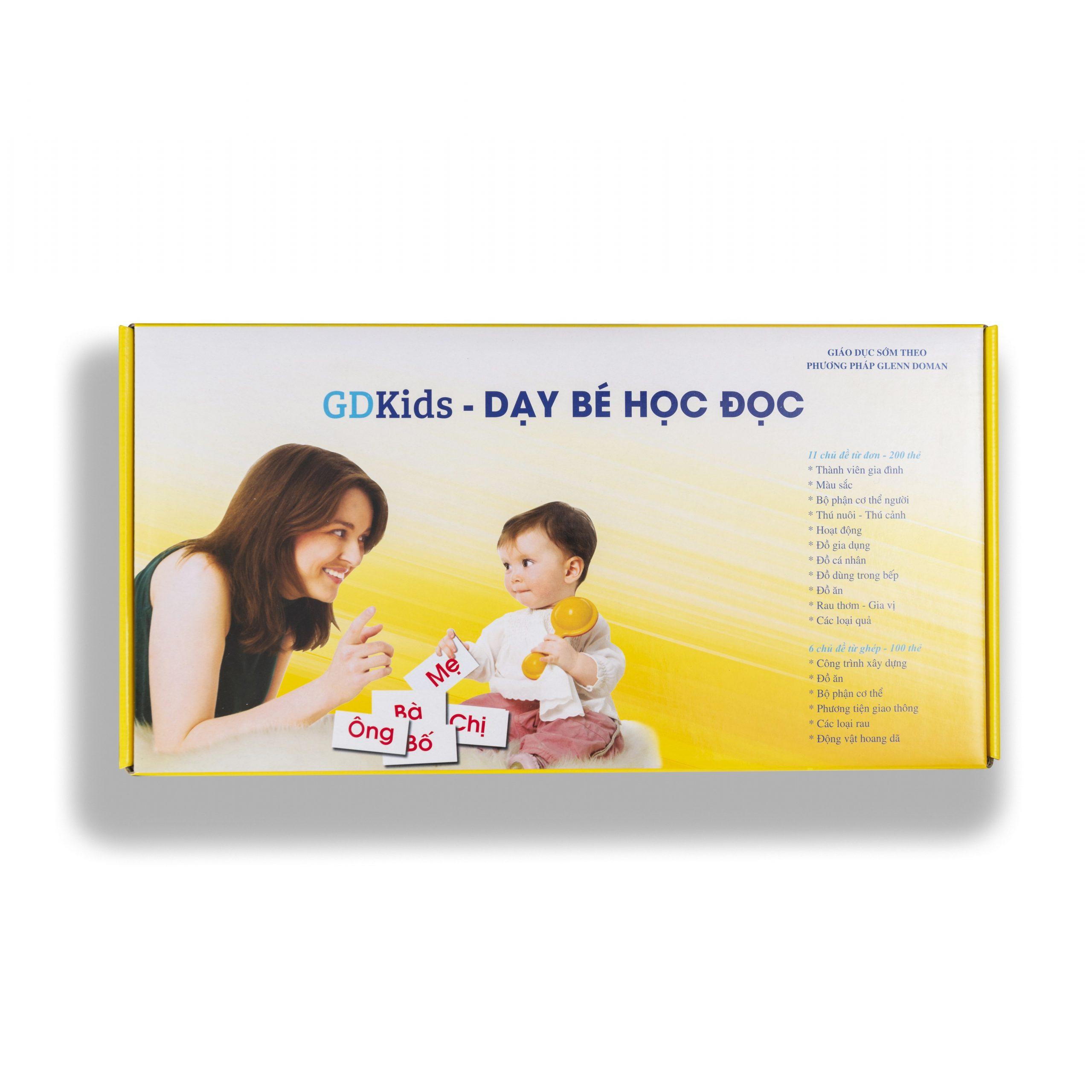 GDKids – Dạy Bé Học Đọc Glenn Doman (300 Thẻ Flashcards)