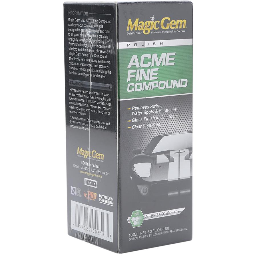 Chai Phục Hồi, Tẩy Mốc Ố Sơn Xe Acme Fine Compoud Magic Gem M2303 (100ml)
