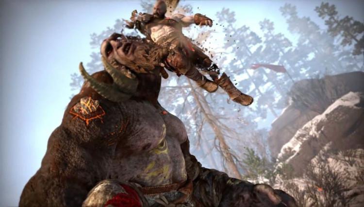 Đĩa game Ps4 God Of War 4 Hệ Asia - Hàng Chính hãng 2