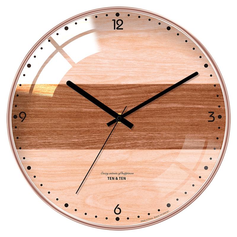 Đồng hồ treo tường hiện đại nghệ thuật Bắc Âu- Mẫu 2