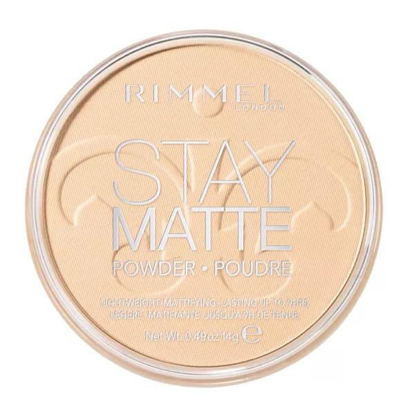 Phấn phủ không màu Rimmel Stay Matte Powder 14g - Transparent