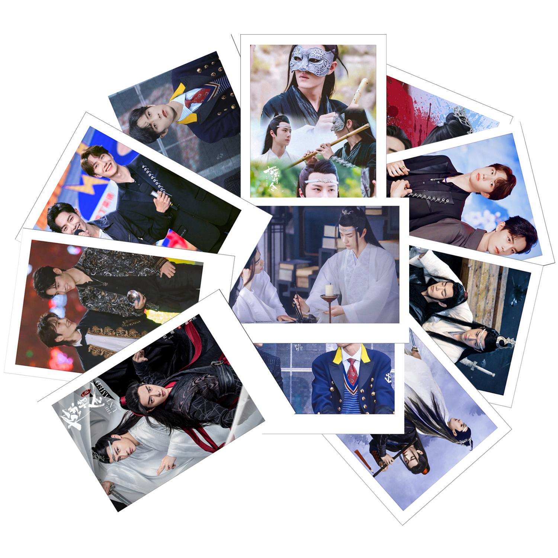 Ảnh set 11 card polaroid Bác Quân Nhất Tiêu - Vương Nhất Bác x Tiêu Chiến khác nhau