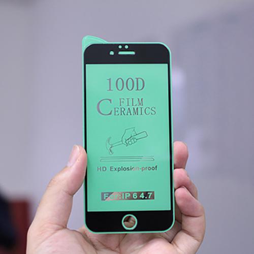 Kính Cường Lực Ceramics Dẻo 100D Dành cho iPhone 6/ 7/ SE/ 6Plus/ 7 Plus/ X/ Xr/ Xs Max/ 11/ 11 Pro/ 11 Pro Max- Hàng Chính Hãng