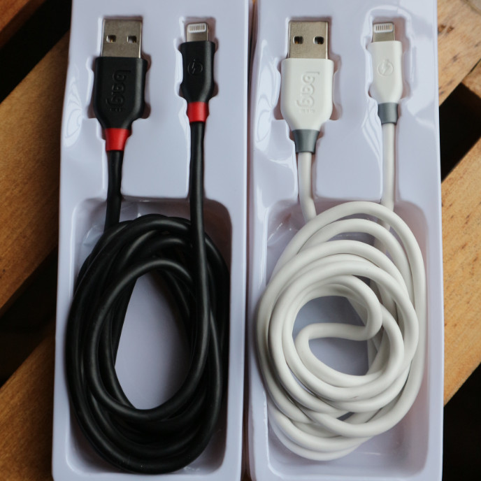 Cáp Sạc Iphone BAGI CB - IA15 hoặc IA150 (1.5m) - Hàng Chính Hãng