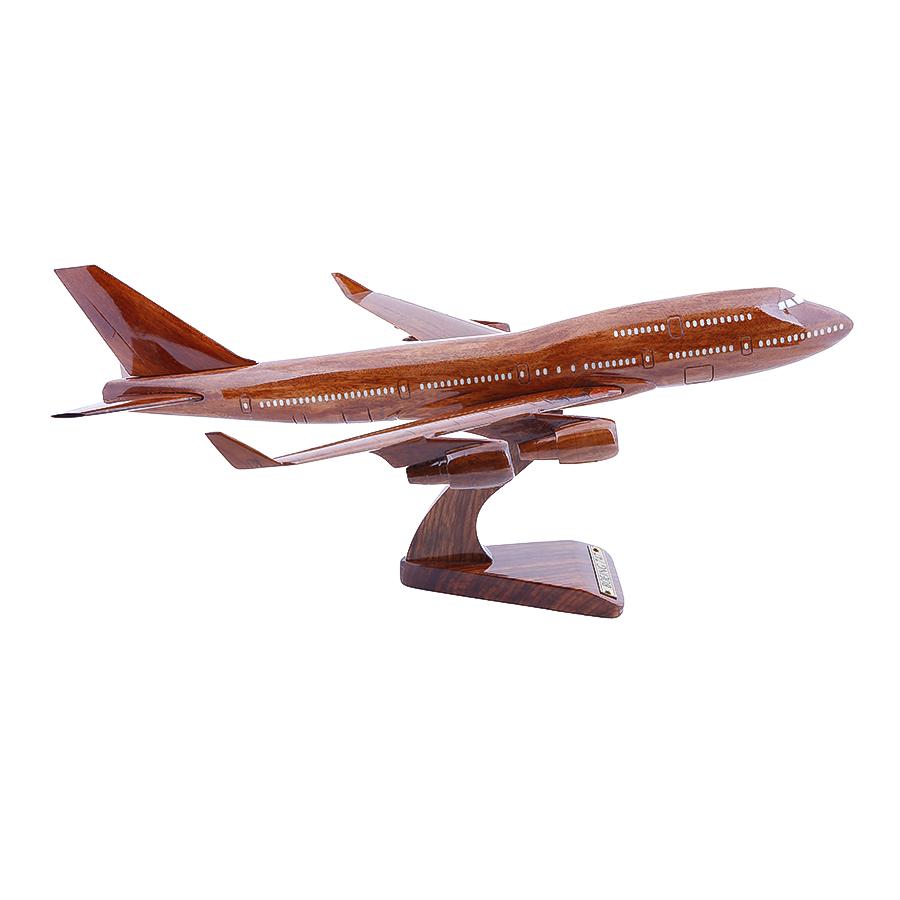Máy Bay Gỗ Boeing 747 Mỹ Nghệ Phúc Loan