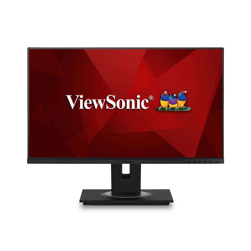 Màn hình LCD Viewsonic VG2455 USB Type-C 24 inch Full HD (1920 x 1080) 5ms 75Hz IPS Stereo Speaker 2W x 2 - Hàng Chính Hãng
