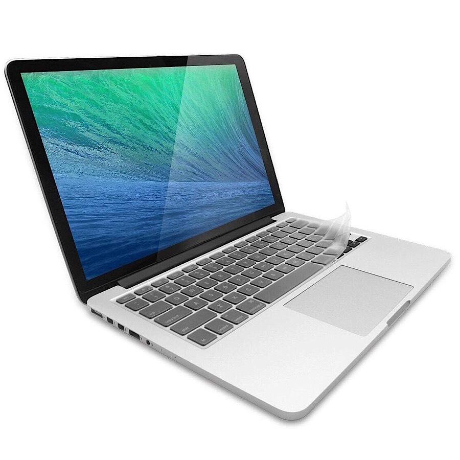 """Miếng phủ bàn phím bảo vệ cho MacBook Air 13"""" / 15"""" (đời 2015 - 2017) hiệu JCPAL FitSkin Tpu (hàng nhập khẩu)"""