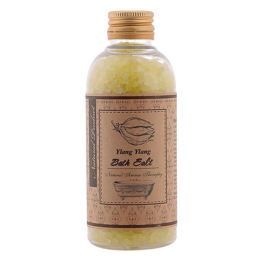 Muối ngâm ngọc lan tặng xơ mướp - Ylang Bath Salt (200g)