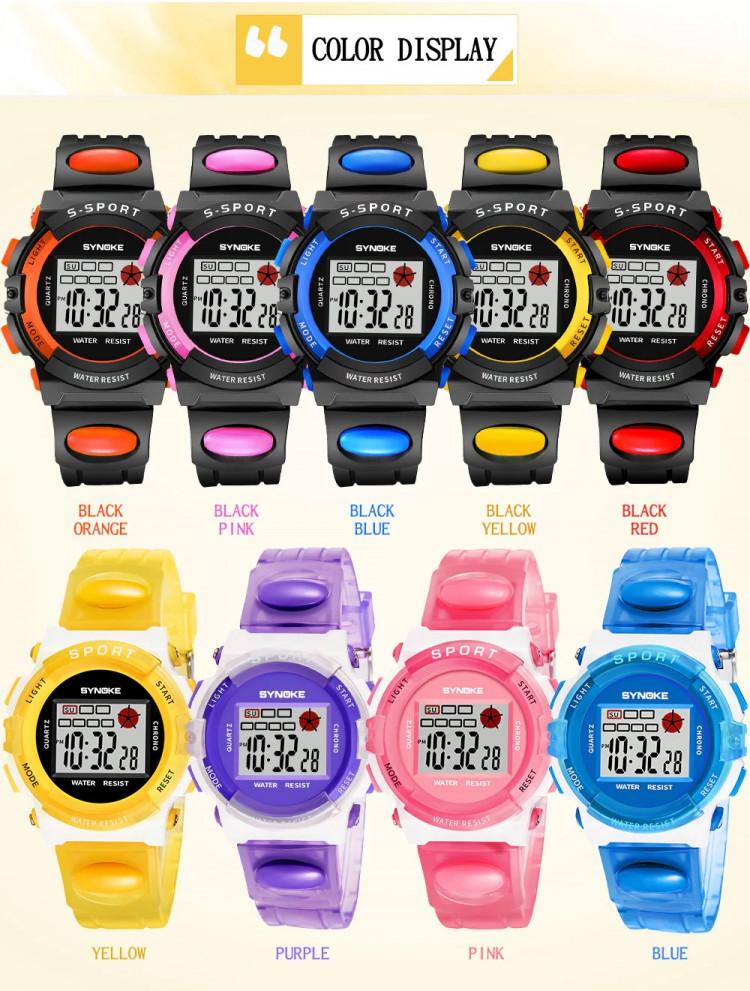Đồng hồ trẻ em SYNOKE 99268 2