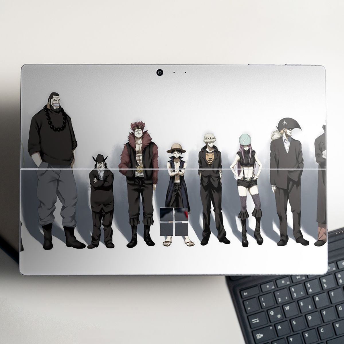 Skin dán hình One Piece x16 cho Surface Go, Pro 2, Pro 3, Pro 4, Pro 5, Pro 6, Pro 7, Pro X