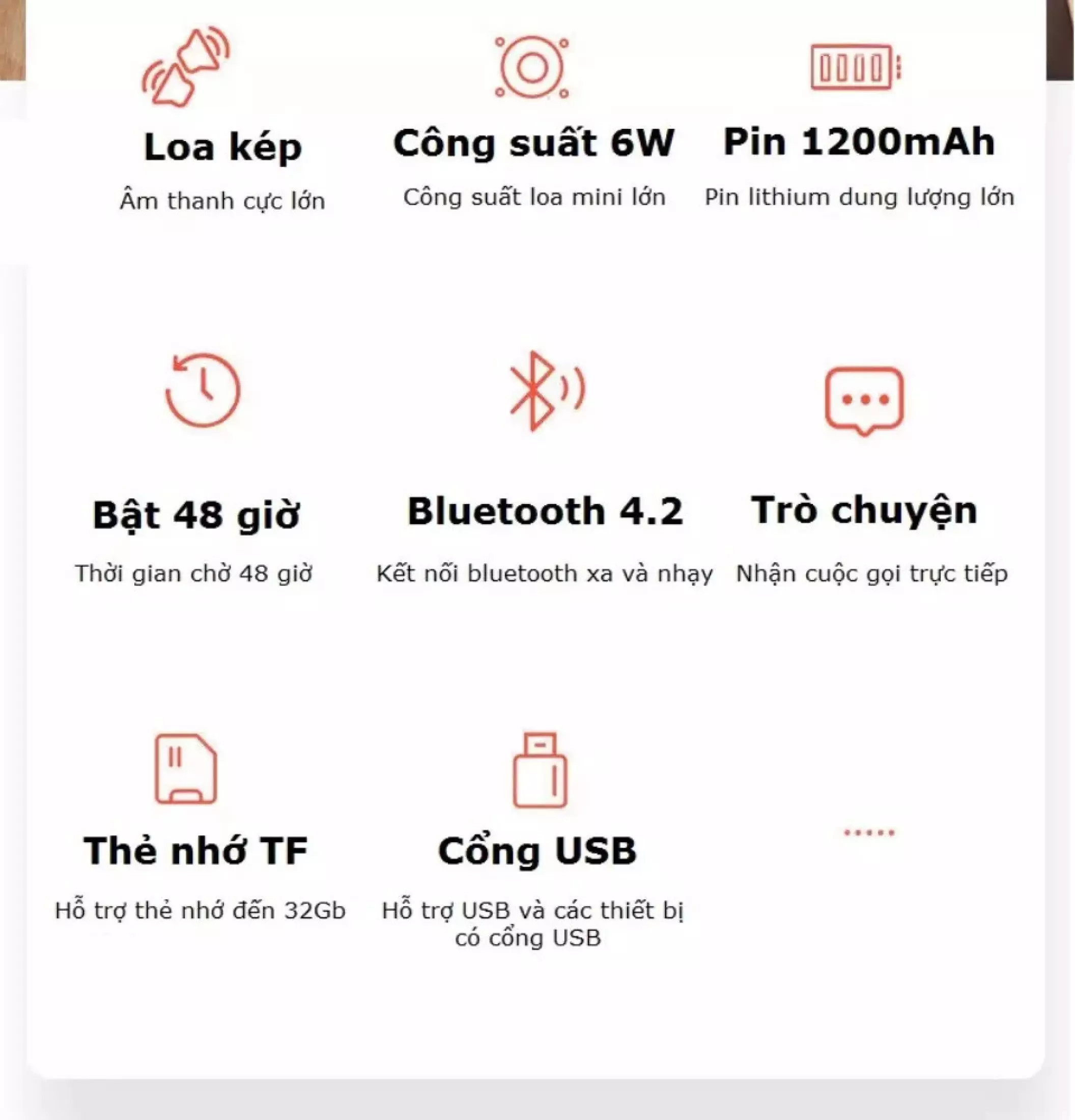 Loa Bluetooth Change Mini 3+ Lanith - Loa Phát Không Dây Mini - Thiết Kế Chắc Chắn, Cứng Cáp - Âm Lượng Lớn, Chất Âm Ấm - Kết Nối Bluetooth Nhanh Chóng, Ổn Định - Tặng Kèm Cáp Sạc 3 Đầu - Hàng Nhập Khẩu - LMN00003-Cap00001
