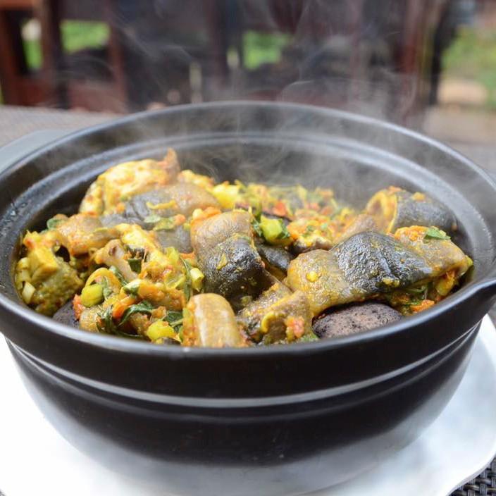 Đá nướng thịt không khói loại đá cuội nham thạch loại lớn 1 kg