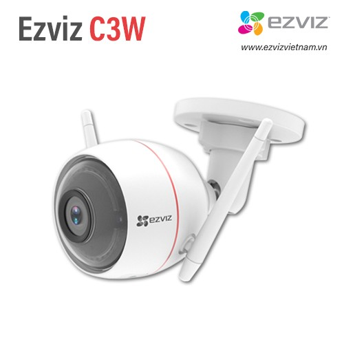 Camera Wifi EZVIZ C3W 1080P (CS-CV310-A0-1B2WFR) - TÍCH HỢP ĐÈN CHỚP VÀ CÒI BÁO ĐỘNG - TẶNG THẺ NHỚ 32GB - HÀNG CHÍNH HÃNG 100%